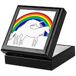 Humping Unicorns Keepsake Box