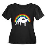 Humping Unicorns Plus Size T-Shirt