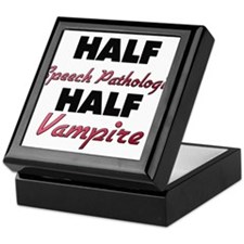 Half Speech Pathologist Half Vampire Keepsake Box