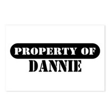 Property of Dannie Postcards (Package of 8)