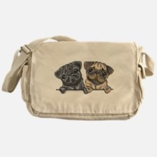 Pug Pals Messenger Bag