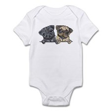 Pug Pals Infant Bodysuit