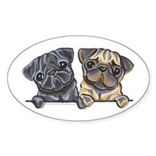 Pug Pals Decal
