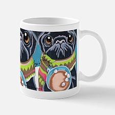 Black Pug Chocolate Lover Mug