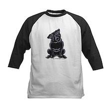 Black Pug Sit Pretty Tee