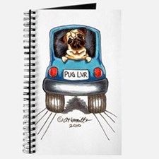 Pug Lover Car Journal