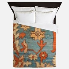Carpet  Mosaic Design. 2  Queen Duvet