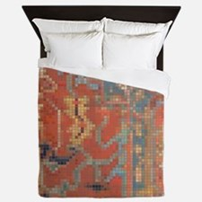 Carpet  Mosaic Design. 4 Queen Duvet