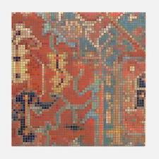 Carpet  Mosaic Design. 4 Tile Coaster