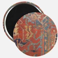 Carpet  Mosaic Design. 4 Magnet