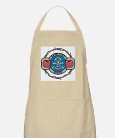 North Dakota Boxing BBQ Apron