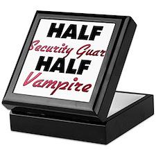Half Security Guard Half Vampire Keepsake Box