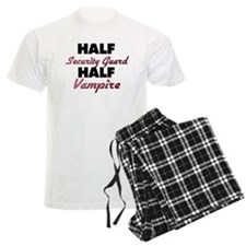 Half Security Guard Half Vampire Pajamas