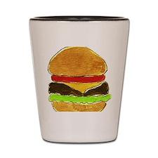 Hamburger Shot Glass