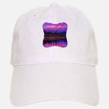 Wonder Lake at Sunset Baseball Baseball Cap