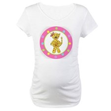 Cheetah Pink Bow Polka Dots Shirt