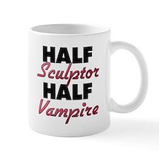 Half Sculptor Half Vampire Mugs