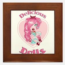 Delicious Dolls Logo Framed Tile