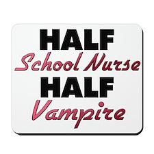 Half School Nurse Half Vampire Mousepad