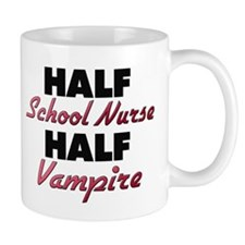 Half School Nurse Half Vampire Mugs