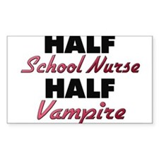 Half School Nurse Half Vampire Decal