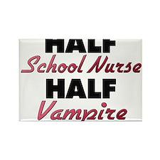 Half School Nurse Half Vampire Magnets