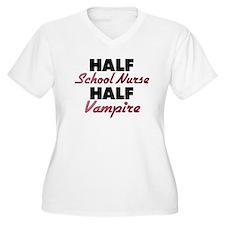 Half School Nurse Half Vampire Plus Size T-Shirt