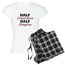 Half School Nurse Half Vampire Pajamas