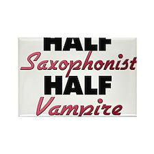 Half Saxophonist Half Vampire Magnets