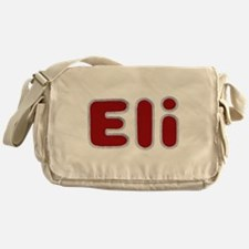Eli Santa Fur Messenger Bag