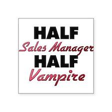 Half Sales Manager Half Vampire Sticker