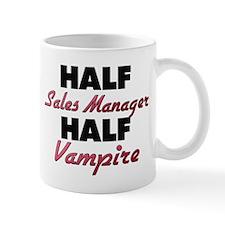 Half Sales Manager Half Vampire Mugs