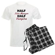 Half Sales Manager Half Vampire Pajamas
