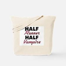 Half Runner Half Vampire Tote Bag