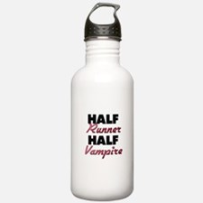 Half Runner Half Vampire Water Bottle