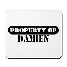 Property of Damien Mousepad