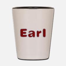 Earl Santa Fur Shot Glass