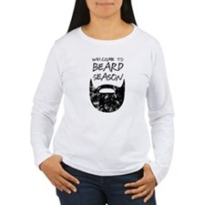 Welcome to Beard Season Long Sleeve T-Shirt