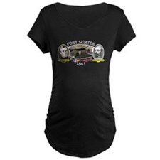 Fort Sumter Maternity T-Shirt