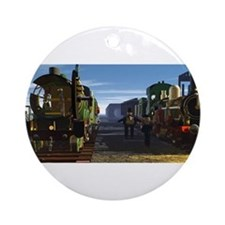 The Flying Scotsman and the Dutchman Ornament (Rou