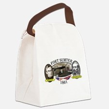 Fort Sumter Canvas Lunch Bag