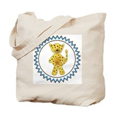 Cheetah Zig Zag Tote Bag