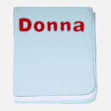 Donna Santa Fur baby blanket