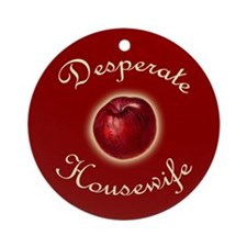 Desperate Housewife Ornament (Round)
