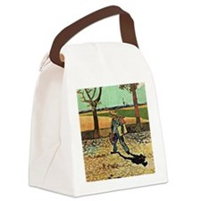 Van Gogh: Self-Portrait on the Ro Canvas Lunch Bag