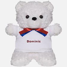 Dominic Santa Fur Teddy Bear