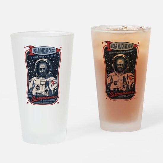 Castronauts! Drinking Glass