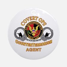 CounterTerrorism Ornament (Round)