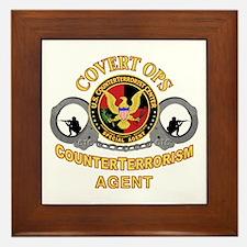 CounterTerrorism Framed Tile