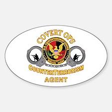 CounterTerrorism Oval Decal
